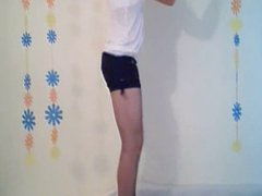 Playful Shemale Teen on Cam