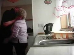 Hidden cam. Mum and dad home alones having fun