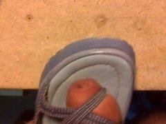 Shoe Thong Sandal Fucking Shoe Pussy