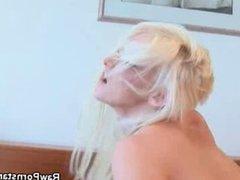 Nadia Hilton Rides And Sucks That Cock