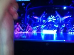 stroking to Selena Gomez Come and Get it Live