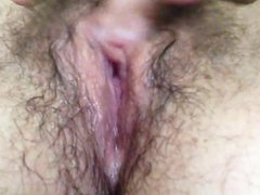 Amateur hairy wet pussy