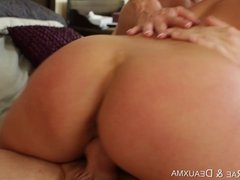 Alanah Rae and Deauxma share a hard cock in dirty threesome