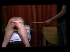 Caning MM: Active Lad Disciplines Daddy