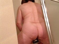 Mom gets her ass off