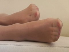 best of pantyhose feet part 2