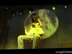 hot Lap Dance with privat peron on public show stage