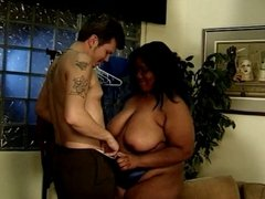 Hot Fat Black Lasha Squeals Whilst Getting Punded