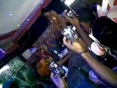 West-Indies Strip tease in public
