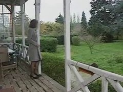 Mature lady gets fucked then joins her stepdaugher