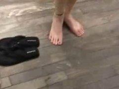 Julia en sandale