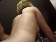 Anal in the kitchen