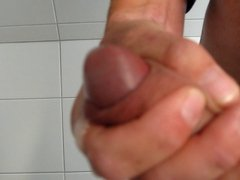 Jerking off with cumshot