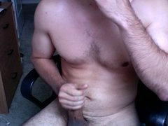 Multiple Cumshots Jerking Session