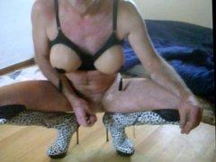 me in lingerie