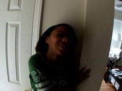 big tit black teen got the wrong apartment