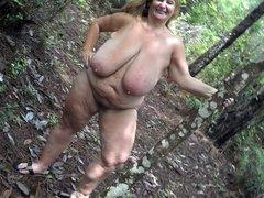 Fabulous Sarah outdoors