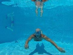 Naked underwater :-)