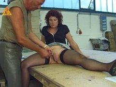 My Sexy Piercings - heavy pierced mature slave BDSM