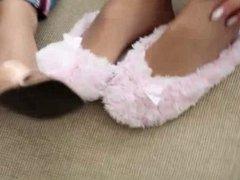 Nylon Feet & Shoes