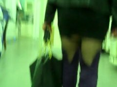 slut in purple boots