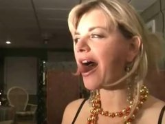 Vicky Vette has a sexy hot tongue
