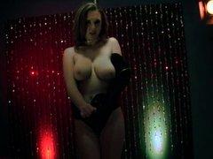 At the strip club