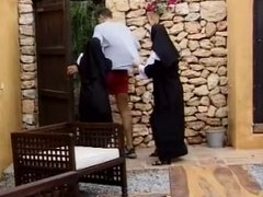 Naughty Nuns threesome
