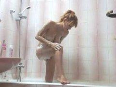 busty teen shower time