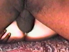 Blonde takes TWO Deep BBC Creampies