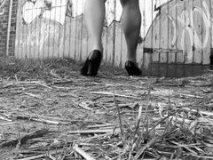 Crossdressing Black & White