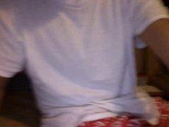 straight guys feet on webcam