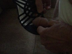 Wifes new black sandals intro
