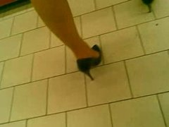 My mom in heels