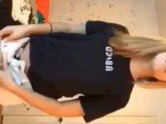 blonde cutie strip n play