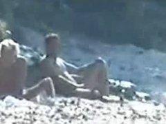 Wanker nude beach