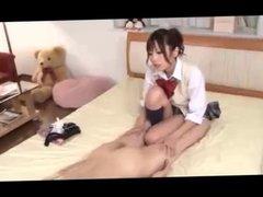 Japanese strapon girl