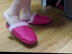 Quilted (over mitt) Fur Lined Slippers by Bootitell