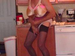 20140707 kitchen tits vintage
