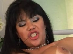 Big Tits Asian & Big Black Cock