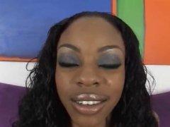 Ebony gets nailed