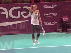 Maria Sharapova Best of practice session