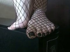 Fishnet feet #1