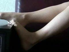 Fishnet feet #2