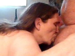 sucking my husband off !