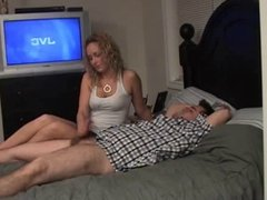 Dominant Wife Wanks Off Hubby !