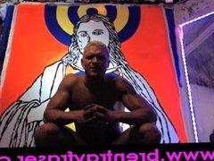 Jesus Christ Jasper Johns Penis Paint Performance 03