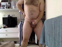 Dripping Precum on Webcam and Huge Cumshot