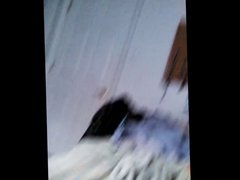 Wife Secretly Filmed Putting Her Bra On