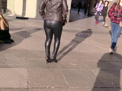 Latex leggins at Karnevall in Cologne